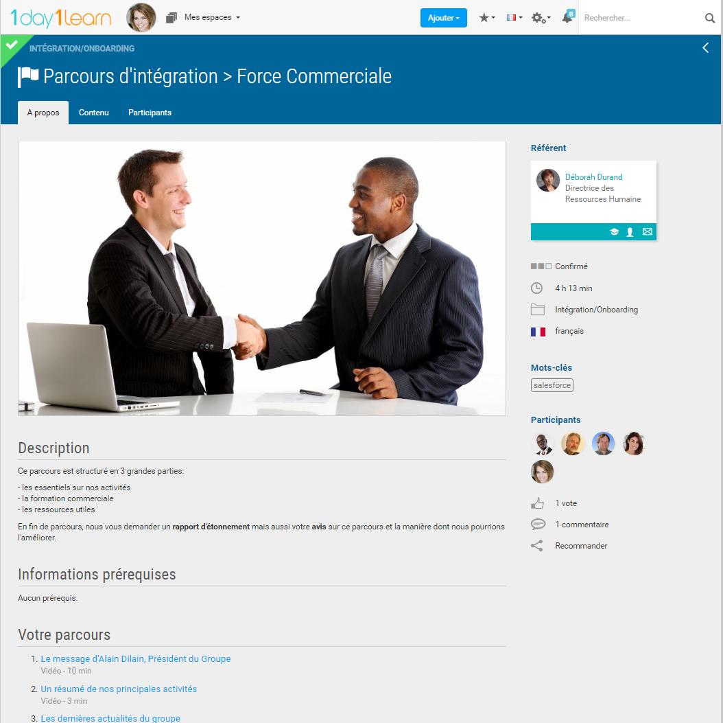 renforcer les interactions lors de l'intégration des collaborateurs